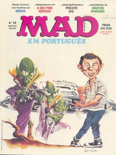 MAD Magazine #59 • Brasil • 1st Edition - Veechi