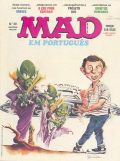 Go to MAD Magazine #59 • Brasil • 1st Edition - Veechi