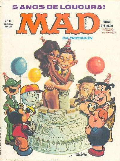 MAD Magazine #60 • Brasil • 1st Edition - Veechi