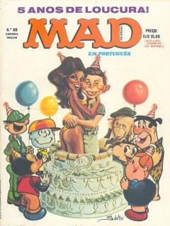 Go to MAD Magazine #60 • Brasil • 1st Edition - Veechi