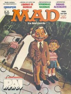 MAD Magazine #61 • Brasil • 1st Edition - Veechi