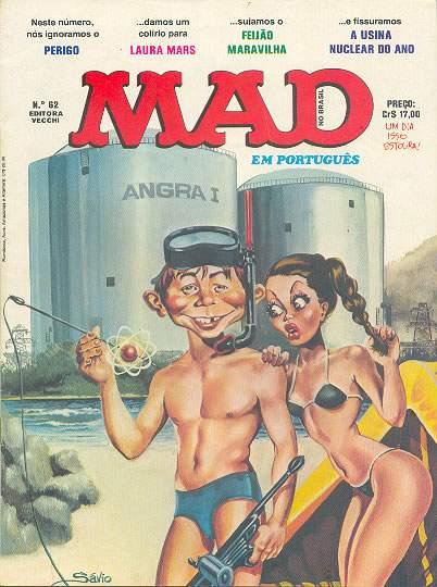MAD Magazine #62 • Brasil • 1st Edition - Veechi