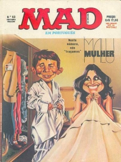 Go to MAD Magazine #63 • Brasil • 1st Edition - Veechi