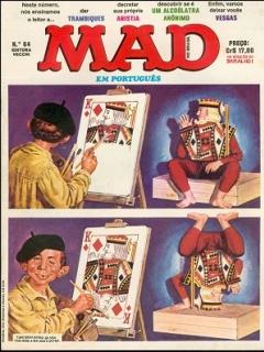 Go to MAD Magazine #64 • Brasil • 1st Edition - Veechi