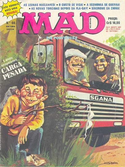 MAD Magazine #66 • Brasil • 1st Edition - Veechi