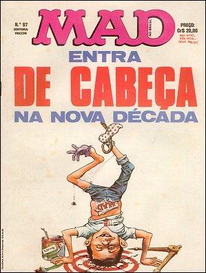 MAD Magazine #67 • Brasil • 1st Edition - Veechi