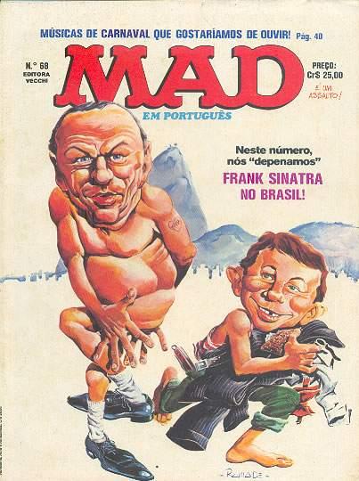 MAD Magazine #68 • Brasil • 1st Edition - Veechi