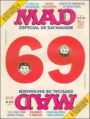 MAD Magazine #69 • Brasil • 1st Edition - Veechi