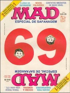 Go to MAD Magazine #69 • Brasil • 1st Edition - Veechi