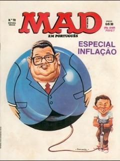 Go to MAD Magazine #70 • Brasil • 1st Edition - Veechi