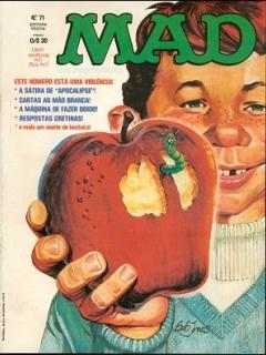 Go to MAD Magazine #71 • Brasil • 1st Edition - Veechi