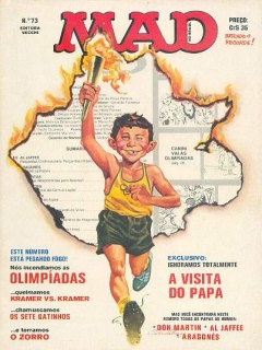 Go to MAD Magazine #73 • Brasil • 1st Edition - Veechi