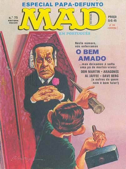MAD Magazine #75 • Brasil • 1st Edition - Veechi