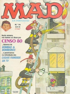 Go to MAD Magazine #76 • Brasil • 1st Edition - Veechi