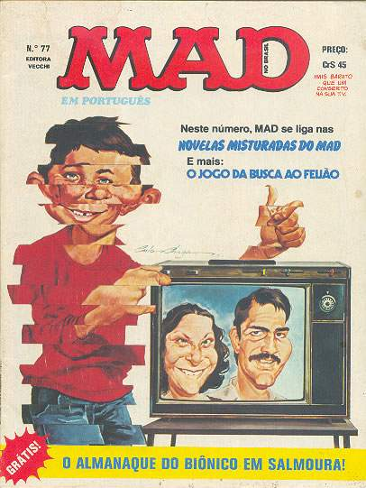 MAD Magazine #77 • Brasil • 1st Edition - Veechi