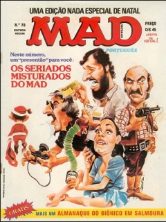 Go to MAD Magazine #78 • Brasil • 1st Edition - Veechi