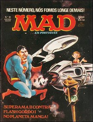 MAD Magazine #81 • Brasil • 1st Edition - Veechi