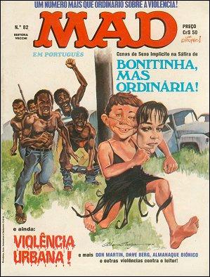 MAD Magazine #82 • Brasil • 1st Edition - Veechi