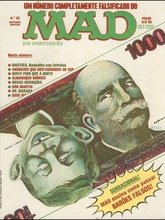 Go to MAD Magazine #83 • Brasil • 1st Edition - Veechi