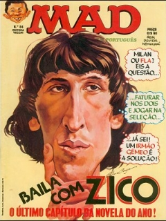 Go to MAD Magazine #84 • Brasil • 1st Edition - Veechi