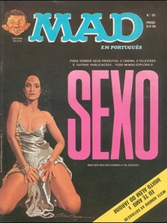 MAD Magazine #85 • Brasil • 1st Edition - Veechi