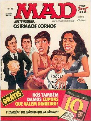 MAD Magazine #86 • Brasil • 1st Edition - Veechi