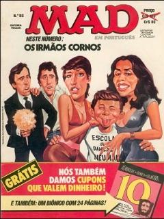 Go to MAD Magazine #86 • Brasil • 1st Edition - Veechi