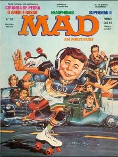 Go to MAD Magazine #87 • Brasil • 1st Edition - Veechi