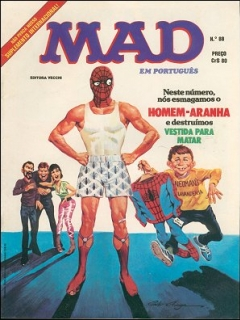 MAD Magazine #88 • Brasil • 1st Edition - Veechi