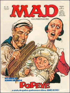 MAD Magazine #91 • Brasil • 1st Edition - Veechi