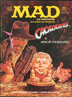 MAD Magazine #92 • Brasil • 1st Edition - Veechi