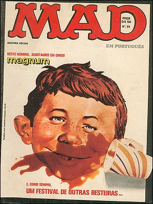 MAD Magazine #94 • Brasil • 1st Edition - Veechi