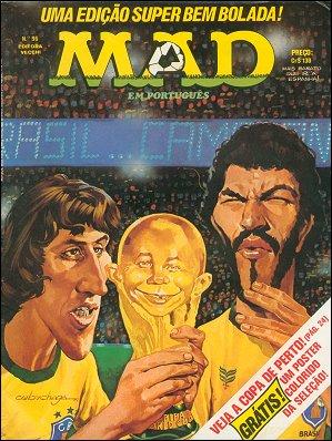 MAD Magazine #96 • Brasil • 1st Edition - Veechi