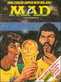 Go to MAD Magazine #96 • Brasil • 1st Edition - Veechi