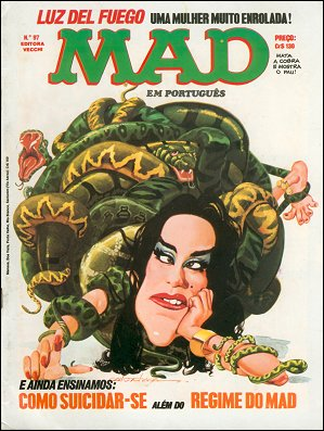 MAD Magazine #97 • Brasil • 1st Edition - Veechi