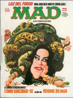 Go to MAD Magazine #97 • Brasil • 1st Edition - Veechi