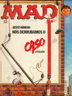 Go to MAD Magazine #98 • Brasil • 1st Edition - Veechi