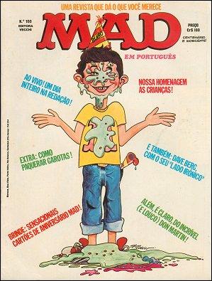 MAD Magazine #100 • Brasil • 1st Edition - Veechi