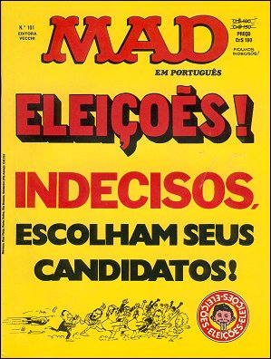 MAD Magazine #101 • Brasil • 1st Edition - Veechi