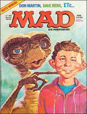 MAD Magazine #103 • Brasil • 1st Edition - Veechi