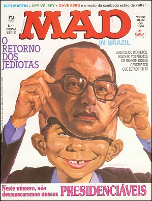 MAD Magazine #1 • Brasil • 2nd Edition - Record