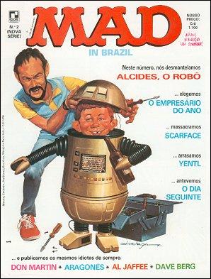 MAD Magazine #2 • Brasil • 2nd Edition - Record