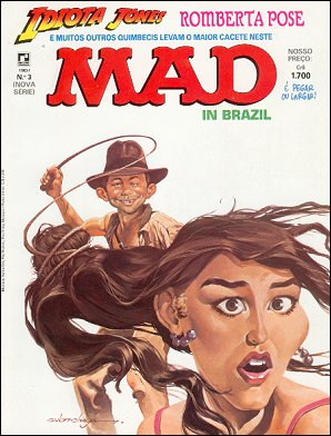 MAD Magazine #3 • Brasil • 2nd Edition - Record