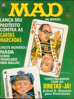 MAD Magazine #4 • Brasil • 2nd Edition - Record