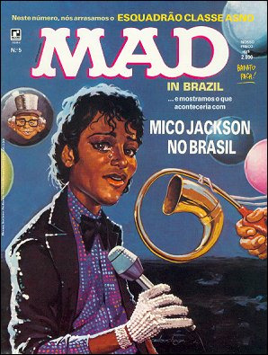 MAD Magazine #5 • Brasil • 2nd Edition - Record