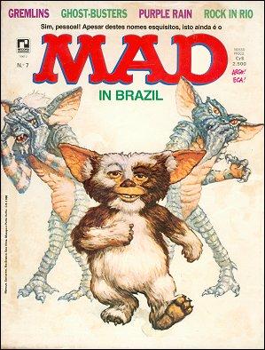 MAD Magazine #7 • Brasil • 2nd Edition - Record