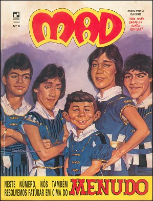 MAD Magazine #8 • Brasil • 2nd Edition - Record