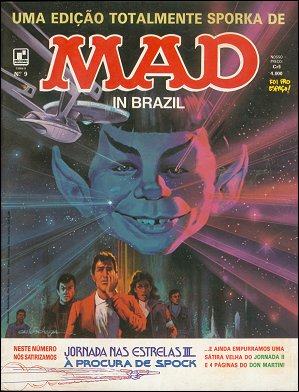 MAD Magazine #9 • Brasil • 2nd Edition - Record