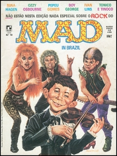 MAD Magazine #10 • Brasil • 2nd Edition - Record