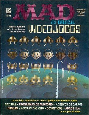 MAD Magazine #12 • Brasil • 2nd Edition - Record